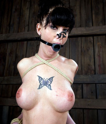 pretty girl tied up